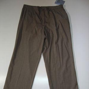 Avenue Women's Taupe Dress Pants Flexi-Fit Sz 18